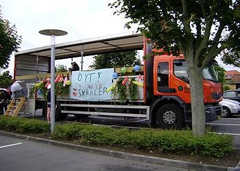 Vi kører studenterkørsel i Østjylland
